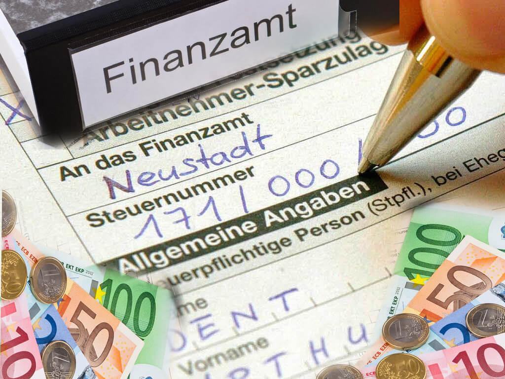 Lohnsteuer für das Finanzamt!