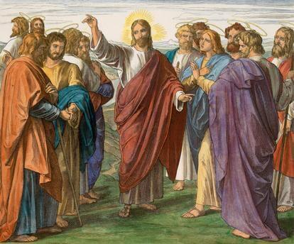 Jesus sendet seine Apostel aus!